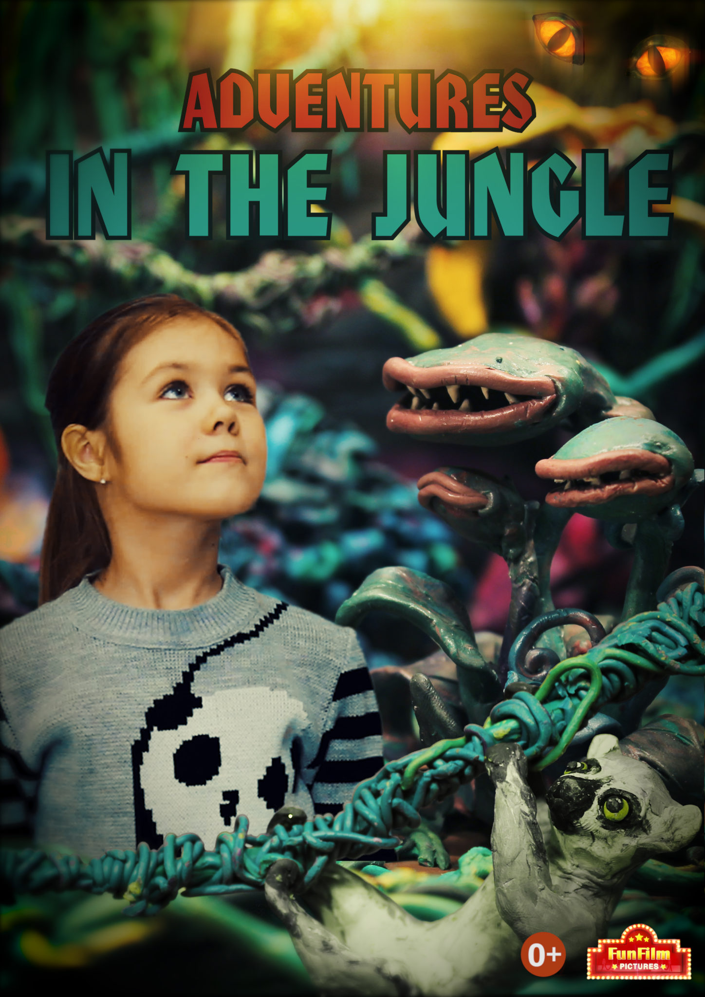 JUNGLE POSTER EN - Adventures in the Jungle