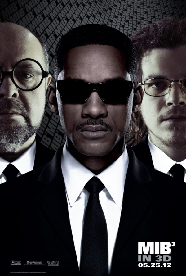 "Based on the film poster ""Men in Black 3"""