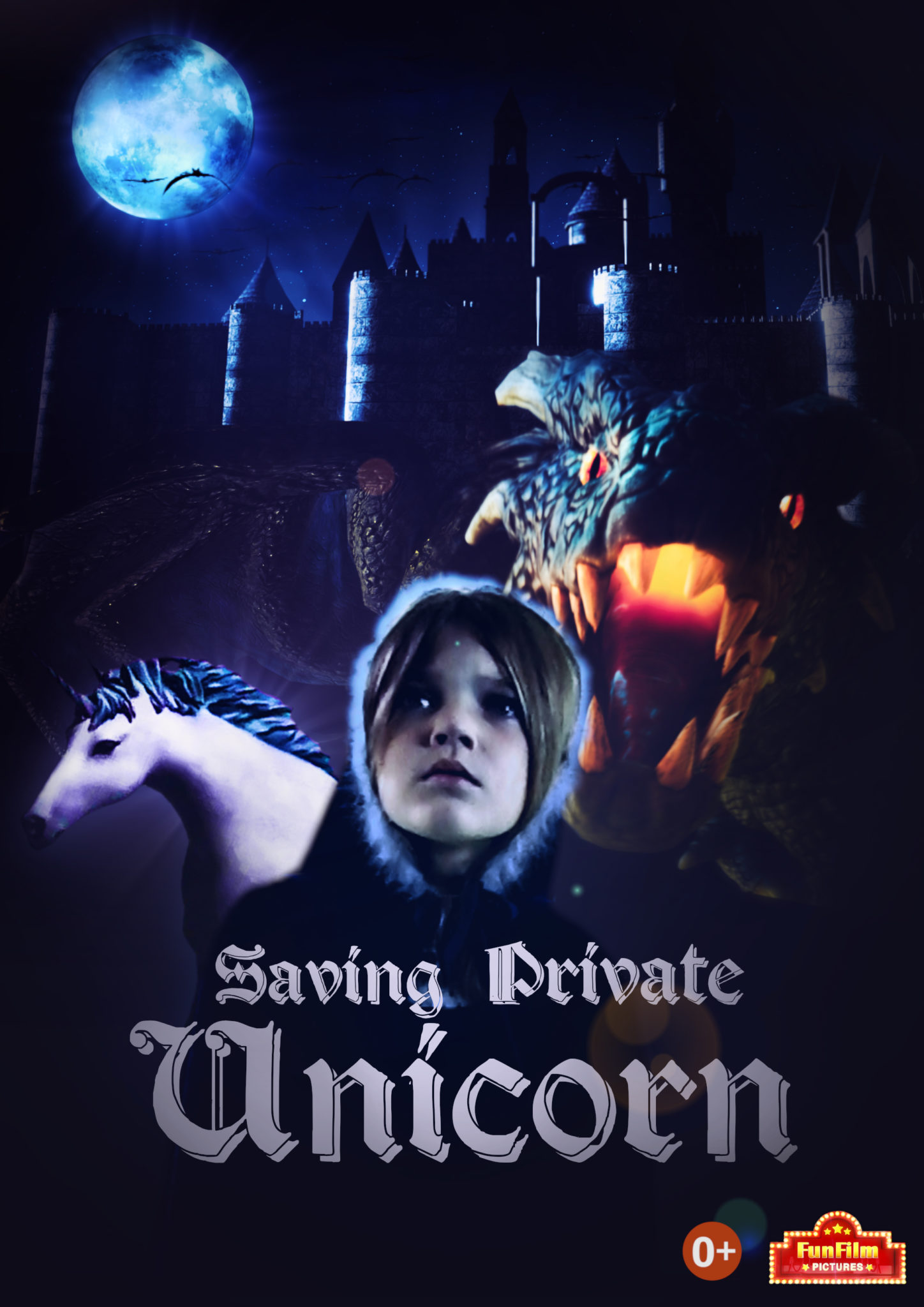UNICORN POSTER EN - Saving Private Unicorn